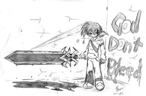 God Don't Bleed -Sketch by Rumilax