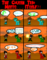 Sprite Comic - Cousin Trio Meets... by SSJ5G