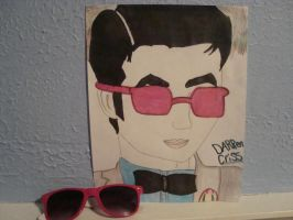 Darren Criss drawing by supersaiyancecilyS