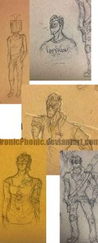 Sketchdump 2 by IronicPhonic