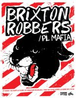 GigFlyer_Brixton Robbers by Deex2