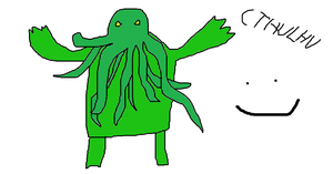 Cthulhu by Dannehh