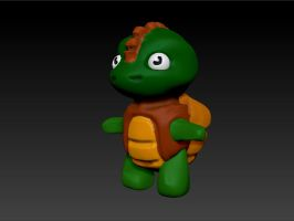 Dino turtle by prashy