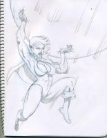Power Girl...little help here by Marvsamune