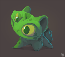 Bulbasaur by sketchinthoughts