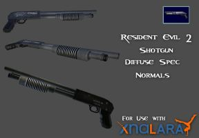RE2 Shotgun by kaikun2236