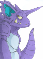 Nidoking by Doktor-Nein