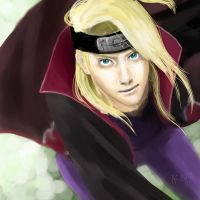 Deidara by its-tea-time
