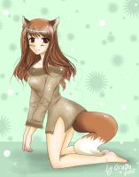 Horo the wise Wolf by Orava