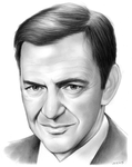 Tony Randall by gregchapin