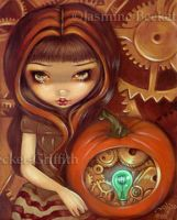 A Clockwork Pumpkin by jasminetoad