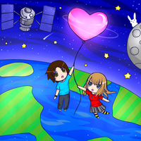 Super Helium Balloon of Love ! : D Wheee by x-BlueberryHeart-x