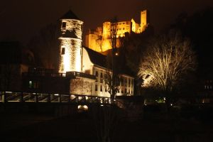 Wertheim at night by Savarra