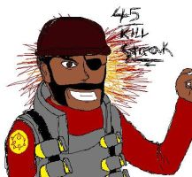 45 Demoman Kill Streak by Stickfiguresrule321