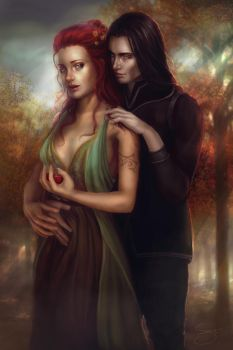 - Hades and Persephone - by Anathematixs