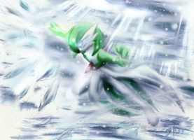 Icy Wind by archus7