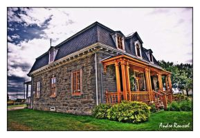 Country Old House-HDR by bellocqa