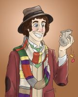 Fourth Doctor by Sherlockian