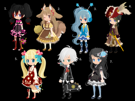 TinierMe DTA and WTA Adopts!!! .:Closed:. by GraceBusya