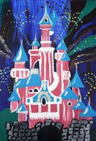 Sleeping beauty's Castle by fairychamber