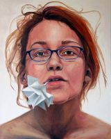 first painted self-portrait by SugarHarris