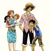 one piece, family by heivais