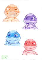 Half Shell Heroes by Doudy20