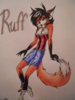.:CM:Ruff the Fox:. by ShadownChaosforevr