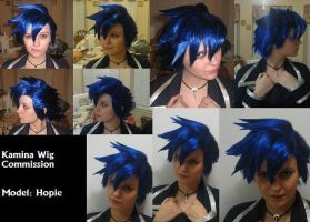 Kamina wig Commission by xHee-Heex