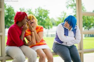 :SD: why you don't take these two to chick flicks by Conflicted-X