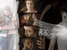 Ready for Hell Bella Edward by TheSearchingEyes