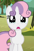 Sad Sweetie Belle by The-Paper-Pony