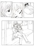 Precious Moment panels bw by Muffyn-Man