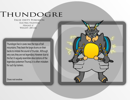 Fake Pokemon - Thundogre by Prinny-Dood
