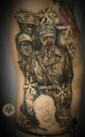 3 ses dead snow movie tattoo by 2Face-Tattoo