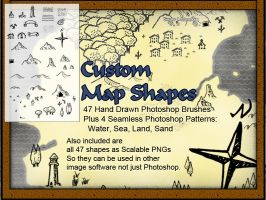 Custom Map Shapes by dmongfx