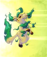 leafeon GO by kitten-on-fire