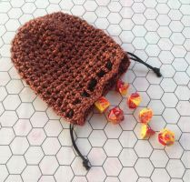 Copper dice bag by silverfaction