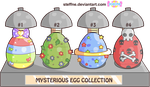 Mysterious Eggs CONTEST by steffne