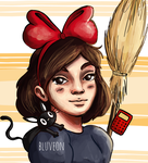 Fanart from 'Kiki - Delivery's Service' by bluveon