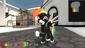 VN Rainbow Storm by mRcracer