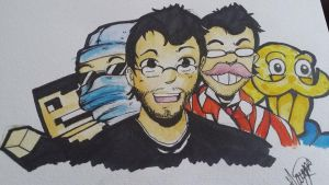 Markiplier game characters by Haiymi