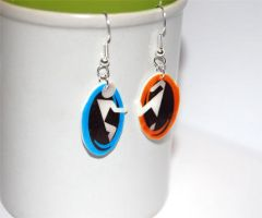 Portal earrings by knil-maloon