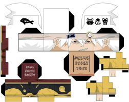 SOUL EATER PAPERTOY by lovekity19