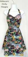 Star Wars comic book dress by imaxxstarfish