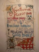 embroidered flyer by YOUNGFORETERNITY