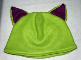 Kitty Ears Hat by LilWolfStudios