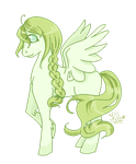 Pegasus Adoptable by MagicallyBlue