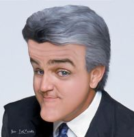 Jay Leno Caricature by jantheempress