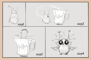 how to wake up the owl by LadyOwl
